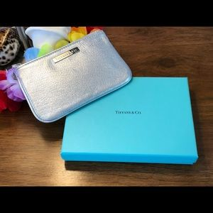 Tiffany & Co. Flat Leather Pouch